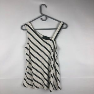 Anthropologie Sunday in Brooklyn Striped Tank Top